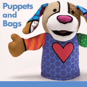 Britto Puppets and Bags