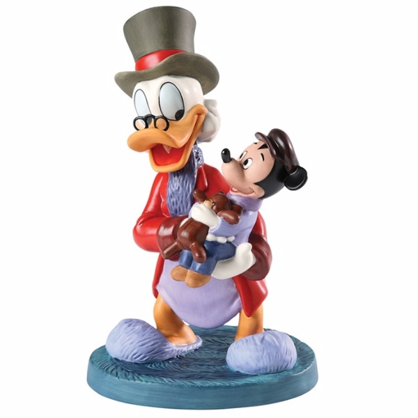 Tiny Tim A Christmas Carol: Scrooge And Tiny Tim