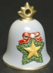 2008 Annual Christmas Bell Ornament - Star Wreath