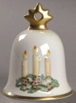 2002 Annual Christmas Bell Ornament - Christmas Candles