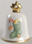 2003 Christmas Bell Ornament - Stocking