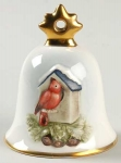 2004 Annual Christmas Bell - Cardinal with Birdhouse