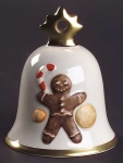 2005 Annual Christmas Bell, Gingerbread Man