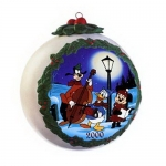 2000 Annual Ball Orn Feauturing Pluto's Christmas Tree