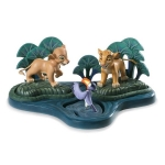 Simba, Nala and Zazu Set with Base