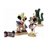 Mickey, Minnie, Cactus, and Opening Title Colorized Set