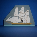 Dancing Cat Clipper Ship