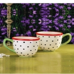 Speckled Mugs, Set of 2