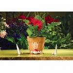 Flower Pot Silk Flower Bouquet