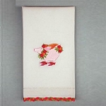 Flying Pig Tea Towel
