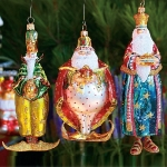 Magi Glass Orn, Set of 3