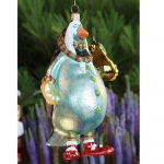 Partridge with Pear Glass Orn