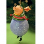 Fred Pig Ornament