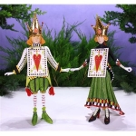 Jack & Jacqueline of Hearts Figures, Set of 2