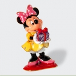 Merry Christmas Minnie Jeweled Box