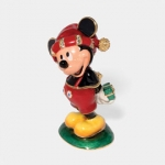 Merry X-mas Mickey Jeweled Box