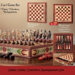 Chess/Cheskers/Backgammon
