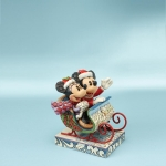 Mickey Mouse in Sleigh