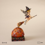 Witch Tinker Bell with Pumpkin