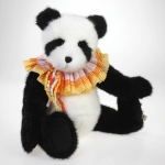 Panda Bear with Ruffle Collar