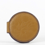 Lena Leather Compact Mirror