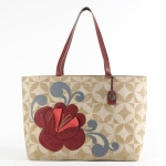 Alexys Linen-Cotton Canvas Tote