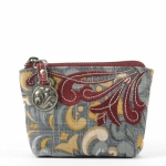 Alexys Linen-Cotton Coin Purse