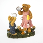 Bear Blowing Bubbles