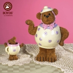 Bear in Teapot & Cup, Set of 2