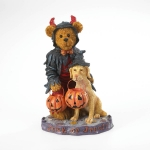 Bear Dressed As Devil w/Dog