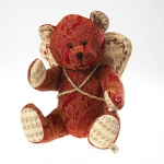 12in Fabric Songbeary Bear