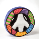 Britto Mini Peace Sign