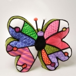 Britto Butterfly Pillow