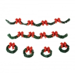City Holiday Boughs set of 6