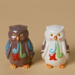 Owls Salt/Pepper, Set of 2