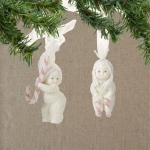 Peppermint Dreams Orn., Set of 2