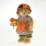 "12"" Gold Chenille Bear LE"