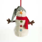 "5"" Holiday Goodfriend Snowman Orn"