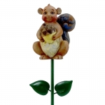 Squirrel Plant Stake