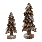 Black Forest Pines, Set of 2