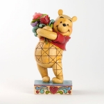 Pooh with Flowers
