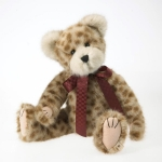 "14"" Leopard Fur Bear"