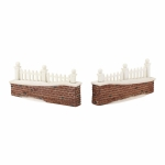 Picket Lane Wall, Set of 2