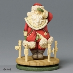 Santa Spinner and Toy Soldiers