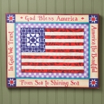 US Flag Wall Canvas