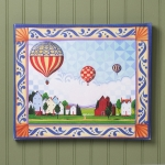 Hot Air Balloon Wall Canvas