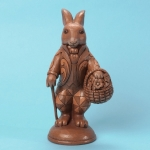 Chocolate Bunny with Basket