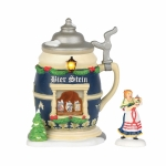 Christmas Market, Bier Stein Booth, Set of 2