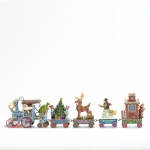 Holiday Express Train, Set of 5