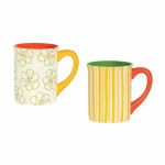 Pattern Mug, Set of 2